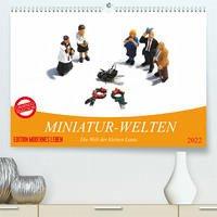 MINIATUR-WELTEN (Premium, hochwertiger DIN A2 Wandkalender 2022, Kunstdruck in Hochglanz)