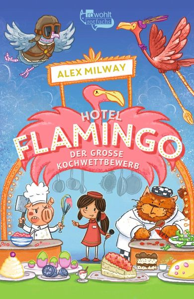 Buch-Reihe Flamingo-Hotel