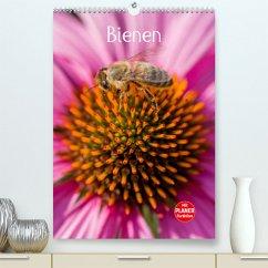 Bienenplaner (Premium, hochwertiger DIN A2 Wandkalender 2022, Kunstdruck in Hochglanz)