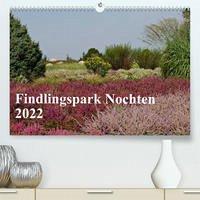 Findlingspark Nochten 2022 (Premium, hochwertiger DIN A2 Wandkalender 2022, Kunstdruck in Hochglanz)