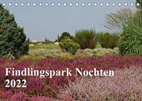 Findlingspark Nochten 2022 (Tischkalender 2022 DIN A5 quer)