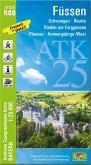 ATK25-R08 Füssen (Amtliche Topographische Karte 1:25000)