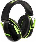 uvex Kapselgehörschutz K1 schwarz/grün