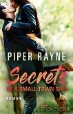 Secrets of a Small Town Girl / Baileys-Serie Bd.7 (eBook, ePUB)