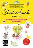 Bullet Journal - Stickerbuch Happy Kids: 700 süße Sticker für Kindergeburtstag, Geburt, Taufe & Co.