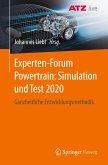 Experten-Forum Powertrain: Simulation und Test 2020