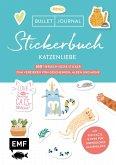 Bullet Journal Stickerbuch - Katzenliebe