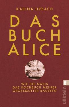 Das Buch Alice - Urbach, Karina