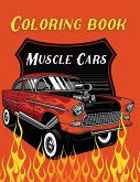 Coloring Book Muscle Cars
