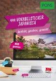 PONS 444 Vokabelsticker Japanisch