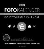 Foto-Bastelkalender schwarz XL 2022