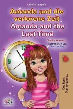 Amanda and the Lost Time (German English Bilingual Children's Book)