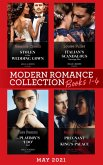 Modern Romance May 2021 Books 1-4: Stolen in Her Wedding Gown (The Greeks' Race to the Altar) / Italian's Scandalous Marriage Plan / The Playboy's 'I Do' Deal / Pregnant in the King's Palace (eBook, ePUB)