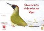 Steckbriefe einheimischer Vögel (Wandkalender 2022 DIN A3 quer)