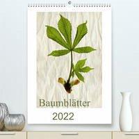 Baumblätter 2022 (Premium, hochwertiger DIN A2 Wandkalender 2022, Kunstdruck in Hochglanz)