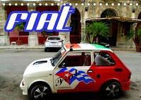 FIAT AUF KUBA (Tischkalender 2022 DIN A5 quer)
