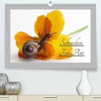 Schnecken FineArt (Premium, hochwertiger DIN A2 Wandkalender 2022, Kunstdruck in Hochglanz)