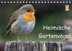 Heimische Gartenvögel (Tischkalender 2022 DIN A5 quer)