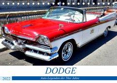 DODGE - Auto-Legenden der 50er Jahre (Tischkalender 2022 DIN A5 quer)