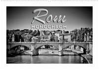 ROM Monochrom (Wandkalender 2022 DIN A2 quer)