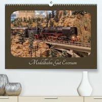 Modellbahn Gut Eversum (Premium, hochwertiger DIN A2 Wandkalender 2022, Kunstdruck in Hochglanz)