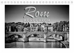 ROM Monochrom (Tischkalender 2022 DIN A5 quer)