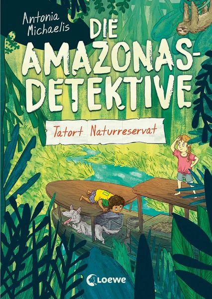 Buch-Reihe Die Amazonas-Detektive