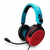 Multiformat Stereo Gaming Headset-C6-100(rot/blau)