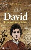 David - Reisen, Abenteuer und Sir Isaac