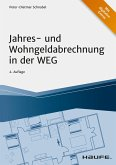 Jahres- und Wohngeldabrechnung in der WEG (eBook, PDF)