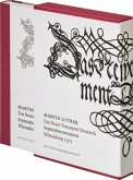 Das Newe Testament Deutzsch. Septembertestament. Faksimile-Ausgabe: das Neue Testament, wie es Martin Luther 1522 auf der Wartburg übersetzt hat. Mit Holzschnitten von Lukas Cranach.