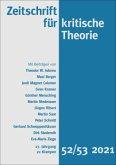 Zeitschrift für kritische Theorie / Zeitschrift für kritische Theorie, Heft 52/53