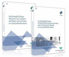 Das Aushangpflichten-Paket für das Gesundheitswesen - Aushangpflichtige Gesetze + Unfallverhütungsvorschriften - Forum Verlag Herkert GmbH