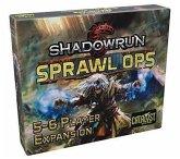 Pegasus CAT77710 - Shadowrun, Sprawl Ops 5-6 Player Expansion, Brettspiel, Würfelspiel