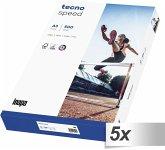 5x 500 Blatt tecno speed A 3 Universalpapier 80 g weiß