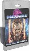 Pegasus CAT28501 - Shadowrun, Dice and Edge Tokens, Würfelspiel