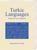 Turkic Languages 25 (2021) 1