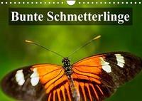Bunte Schmetterlinge (Wandkalender 2022 DIN A4 quer)