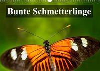 Bunte Schmetterlinge (Wandkalender 2022 DIN A3 quer)
