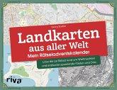 Landkarten aus aller Welt - Mein Rätseladventskalender