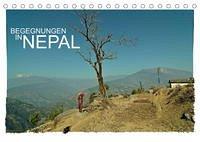 BEGEGNUNGEN IN NEPAL (Tischkalender 2022 DIN A5 quer)