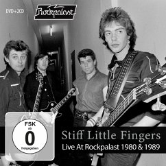 Live At Rockpalast 1980 & 1989 (2cd+Dvd) - Stiff Little Fingers