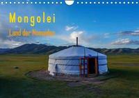 Mongolei - Land der Nomaden (Wandkalender 2022 DIN A4 quer)