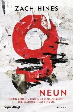 Neun (Mängelexemplar) - Hines, Zach