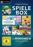 Mega Deluxe Spielebox für Windows 10, 1 CD-ROM