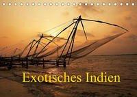 Exotisches Indien (Tischkalender 2022 DIN A5 quer)