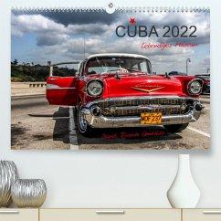 Cuba - Lebendiges Museum (Premium, hochwertiger DIN A2 Wandkalender 2022, Kunstdruck in Hochglanz)