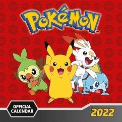 Pokémon 2022 - Wandkalender - Danilo Promotion Ltd