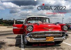 Cuba - Lebendiges Museum (Wandkalender 2022 DIN A2 quer)