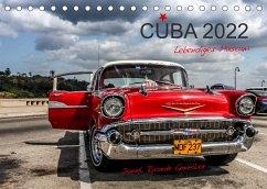 Cuba - Lebendiges Museum (Tischkalender 2022 DIN A5 quer)